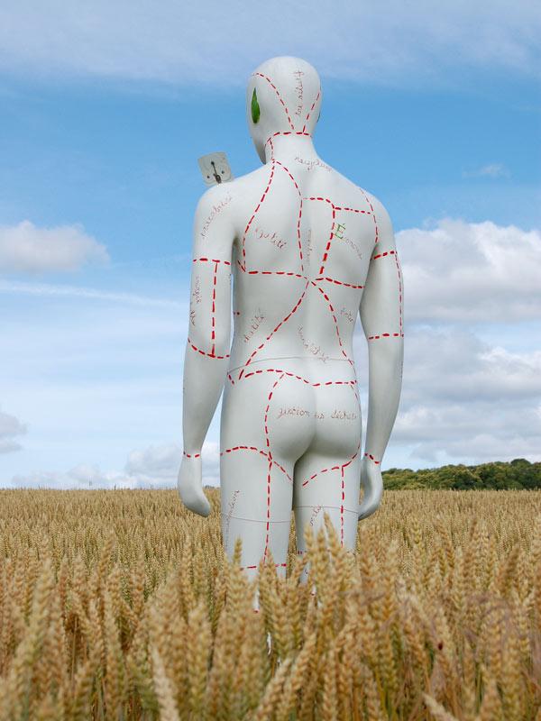 Sculpture Homme T dos