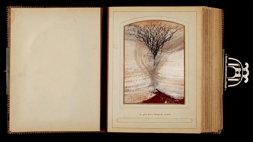 Livre d'artiste, première page