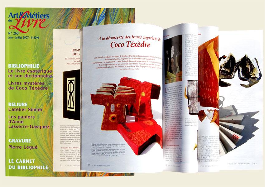 Article dans Arts-et-métiers-du-livre-2007