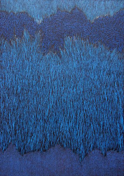 Peinture Herbes 2013-14