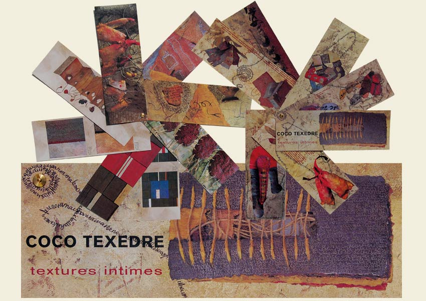 "Catalogue d'exposition ""textures-intimes"""