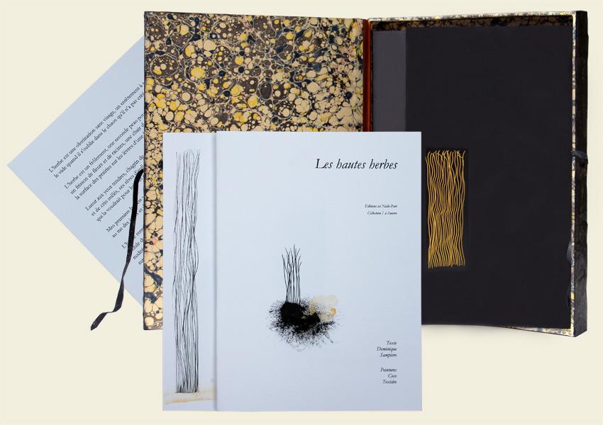 Editions ici Nulle-Part, livre d'artiste