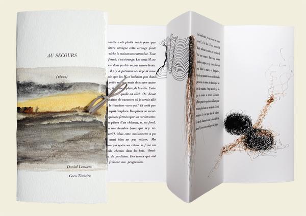 Livre d'artiste Coco Téxèdre
