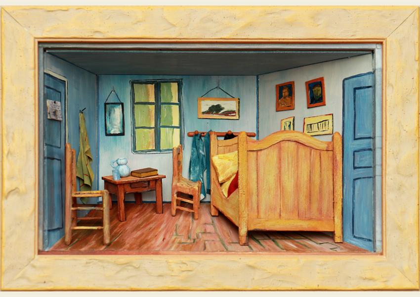 Cabinet d 39 artiste un studiolo contemporain expos la for Chambre van gogh